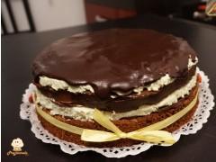 Tort cu menta si ciocolata After Eight